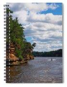Wisconsin Dells Jetski Spiral Notebook