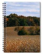 Wisconsin Fields In Late Summer Spiral Notebook