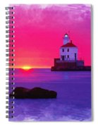 Wisconsin Point Lighthouse Spiral Notebook