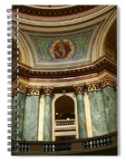 Wisconsin State Capital Building 1  Spiral Notebook