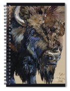 Wise Plains Drifter Spiral Notebook
