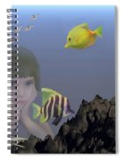 Wish I Could Swim Spiral Notebook