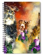 Wishing You A Blessed Advent Spiral Notebook