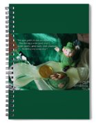 Wishing You A Happy St. Patricks Day Spiral Notebook