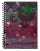 Wishing You All A Purrfect Xmas... Spiral Notebook