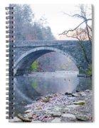 Wissahickon Creek And Valley Green Bridge Spiral Notebook