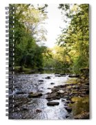 Wissahickon Creek Near Bells Mill Spiral Notebook