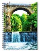 Wissahickon Falls Spiral Notebook