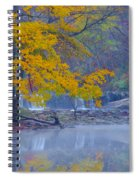 Wissahickon Morning In Autumn Spiral Notebook