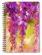 Wisteria Dreams Spiral Notebook