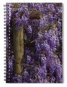 Wisteria Spiral Notebook