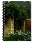 Wisteria In Moonlight Spiral Notebook