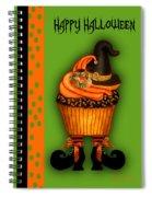 Witch Cupcake 3  Spiral Notebook