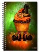 Witch Cupcake 6 Spiral Notebook