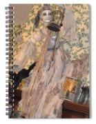 Witch Spirit At The Catfish Plantation Restaurant Spiral Notebook