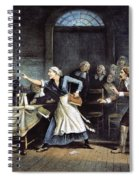 Witch Trial Spiral Notebook