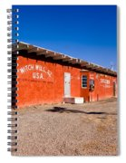 Witch Wells Arizona Spiral Notebook
