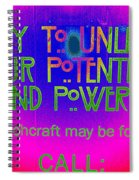 Witchcraft May Be For You Spiral Notebook