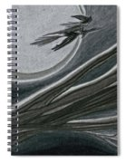 Witches' Branch Grey By Jrr Spiral Notebook