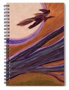 Witches' Branch Purple Spiral Notebook