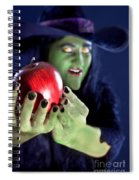 Witch's Apple Spiral Notebook