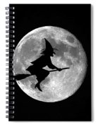 Witchy Moon Spiral Notebook