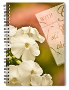 With God All Things Are Possible Spiral Notebook