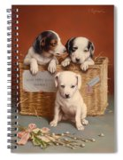 With Hearty Good Wishes Spiral Notebook