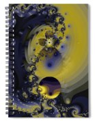 Within A Wave Spiral Notebook