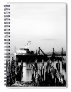 With'in The Harbor Spiral Notebook