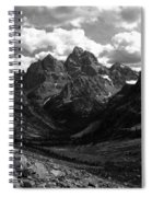 Within The North Fork Of Cascade Canyon Spiral Notebook