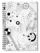 Without Gravity Spiral Notebook