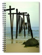 Without Pier Spiral Notebook