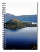 Wizard Island 1 Spiral Notebook