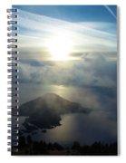 Wizard Sunburst Spiral Notebook