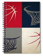 Wizards Ball And Hoop Spiral Notebook