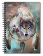 Wolf - Dreams Of Peace Spiral Notebook
