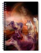 Wolf Mountain Spiral Notebook