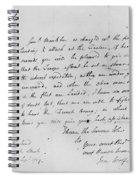 Wolfe Letter, 1759 Spiral Notebook