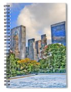 Wollman Rink In Central Park Spiral Notebook