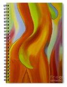 Woman 2 Spiral Notebook