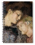 Woman And Child Spiral Notebook