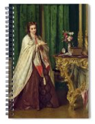 Woman At Her Toilet Spiral Notebook