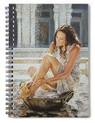 Woman Bathing 2013 Spiral Notebook