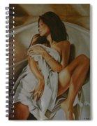 Woman Bathing 3 Spiral Notebook