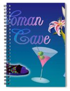 Woman Cave With Stargazers Spiral Notebook