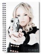 Woman Defense Spiral Notebook