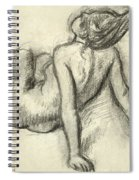 Woman Having Her Hair Styled Spiral Notebook