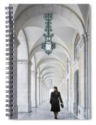 Woman In Archway  Spiral Notebook
