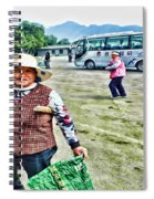 Woman In China Spiral Notebook